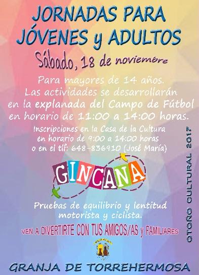 Jornadas para Jóvenes y Adultos