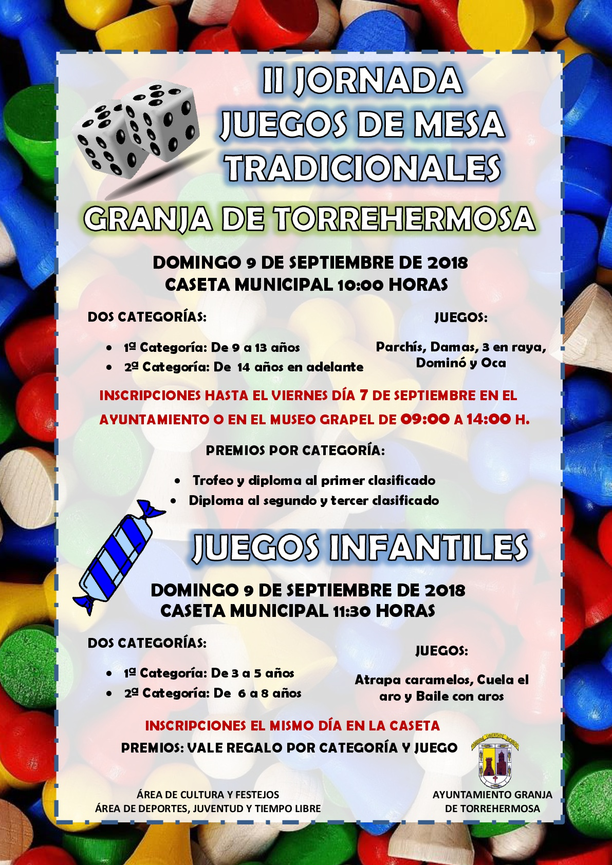 Ii Jornada De Juegos De Mesa Tradicionales Ayuntamiento De Granja