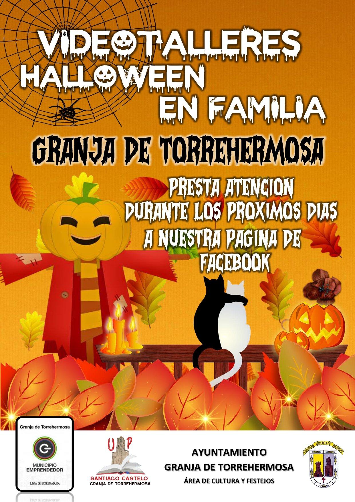 Videotalleres Halloween en familia